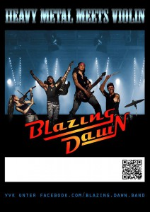 Plakat Blazing dawn_n